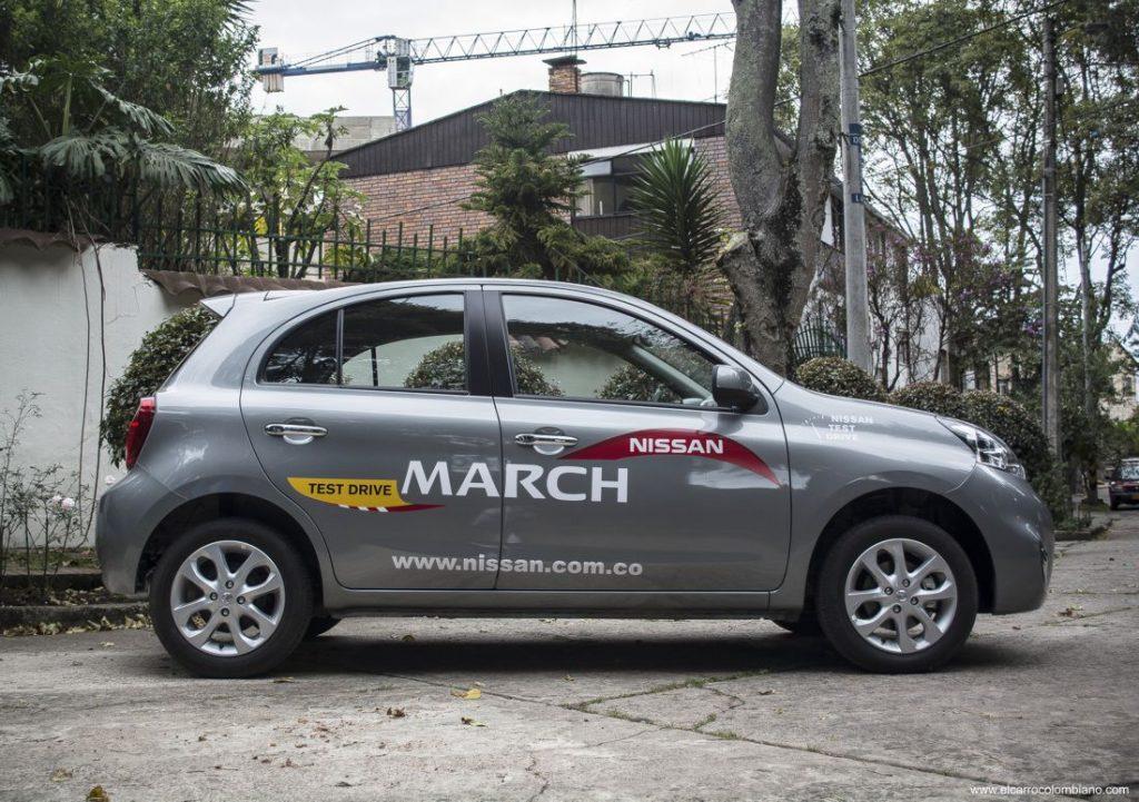 Nissan March Advance Automático, Prueba, Test Drive