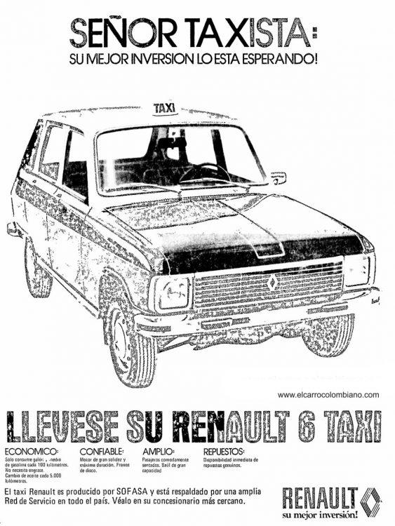 Resultado de imagen de Renault 6 publicidad