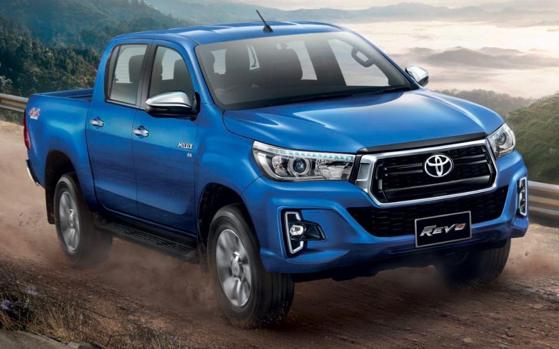Toyota Hilux 2018: Actualización con nuevo diseño para el ...
