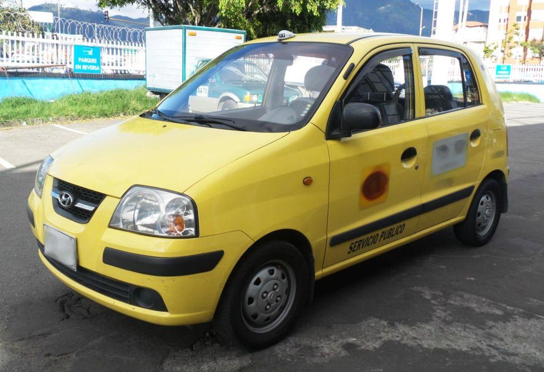 hyundai, si voy en taxi, torneo de futbol para taxistas, taxis hyundai, hyundai colombia