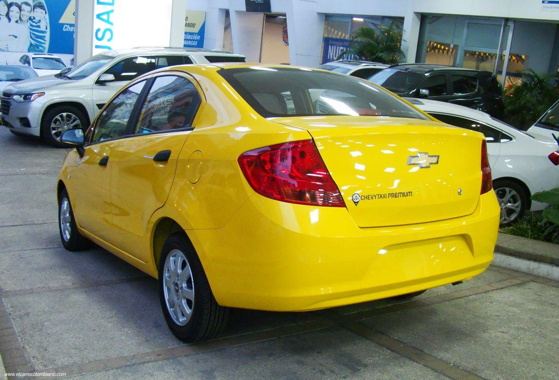 chevrolet chevytaxi premium, chevrolet sail taxi, chevrolet sail colombia, taxis colombia, taxis sedan colombia