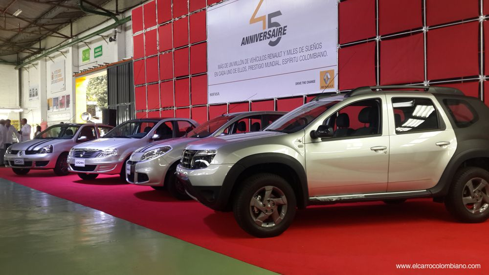 Renault Sofasa 45 años