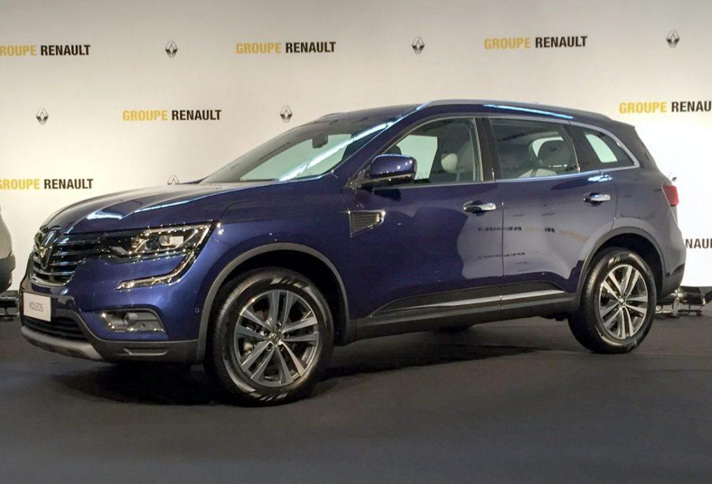 Renault Koleos 2017 en Brasil