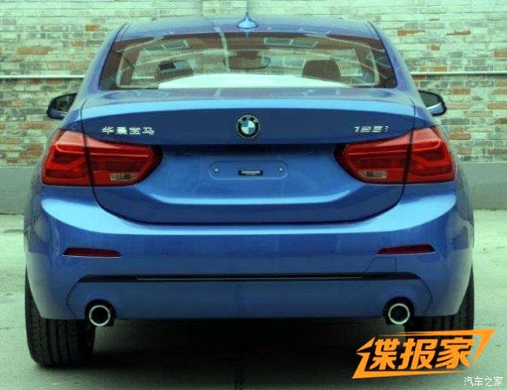 BMW 125i Sedan