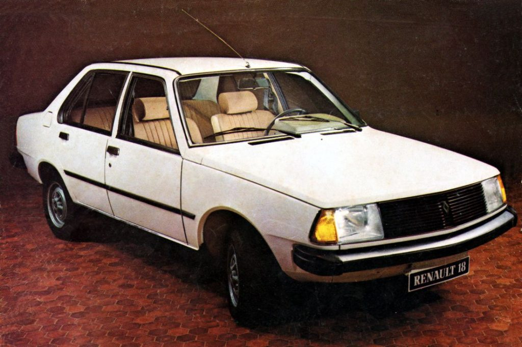 Renault 18, Colombia, Historia