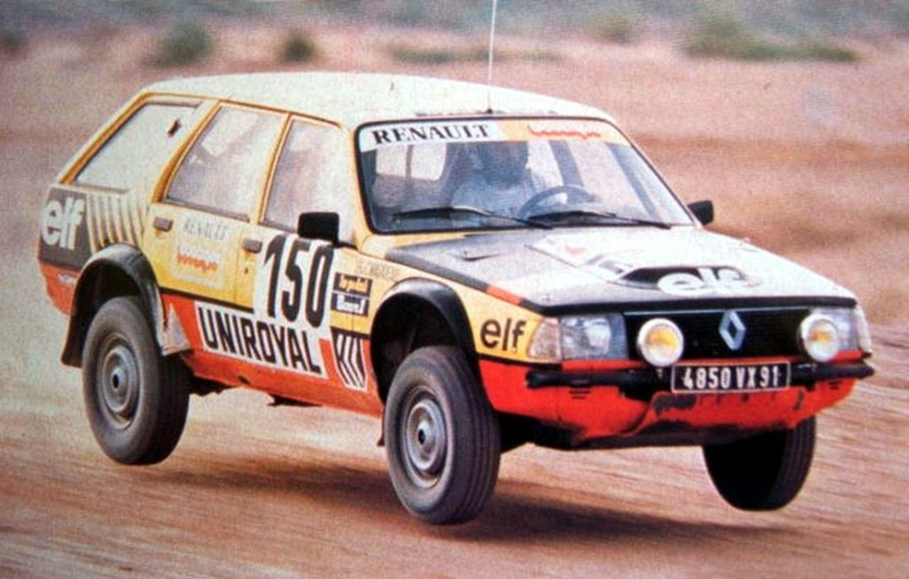 Renault 18 Break Rally Dakar 1983