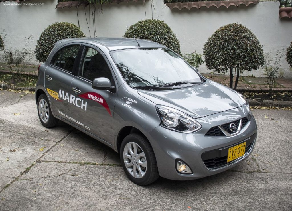 Nissan March Advance Automático, Prueba, Test Drive