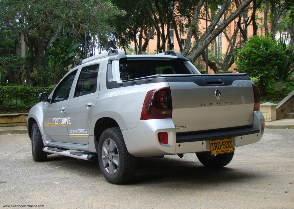 Renault Duster Oroch, prueba, test drive, Colombia