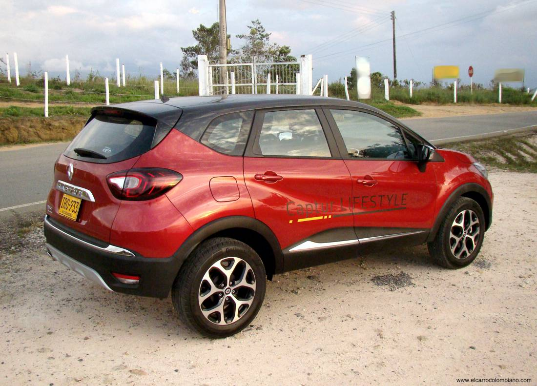 Renault Captur Test Colombia