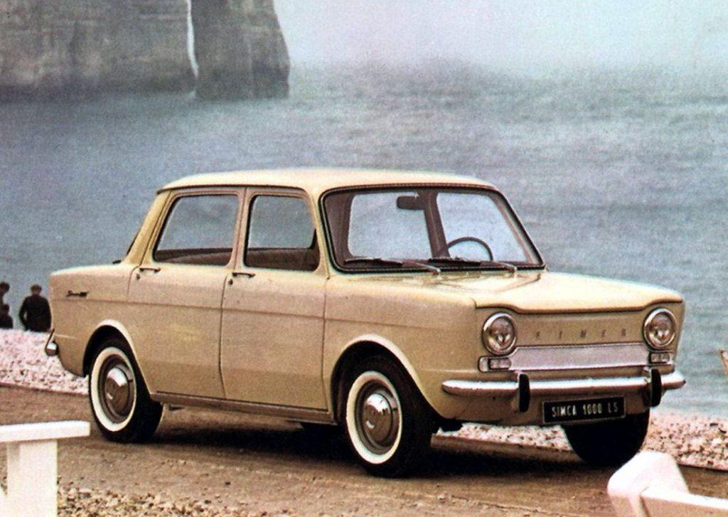 Simca 1000 en Colombia