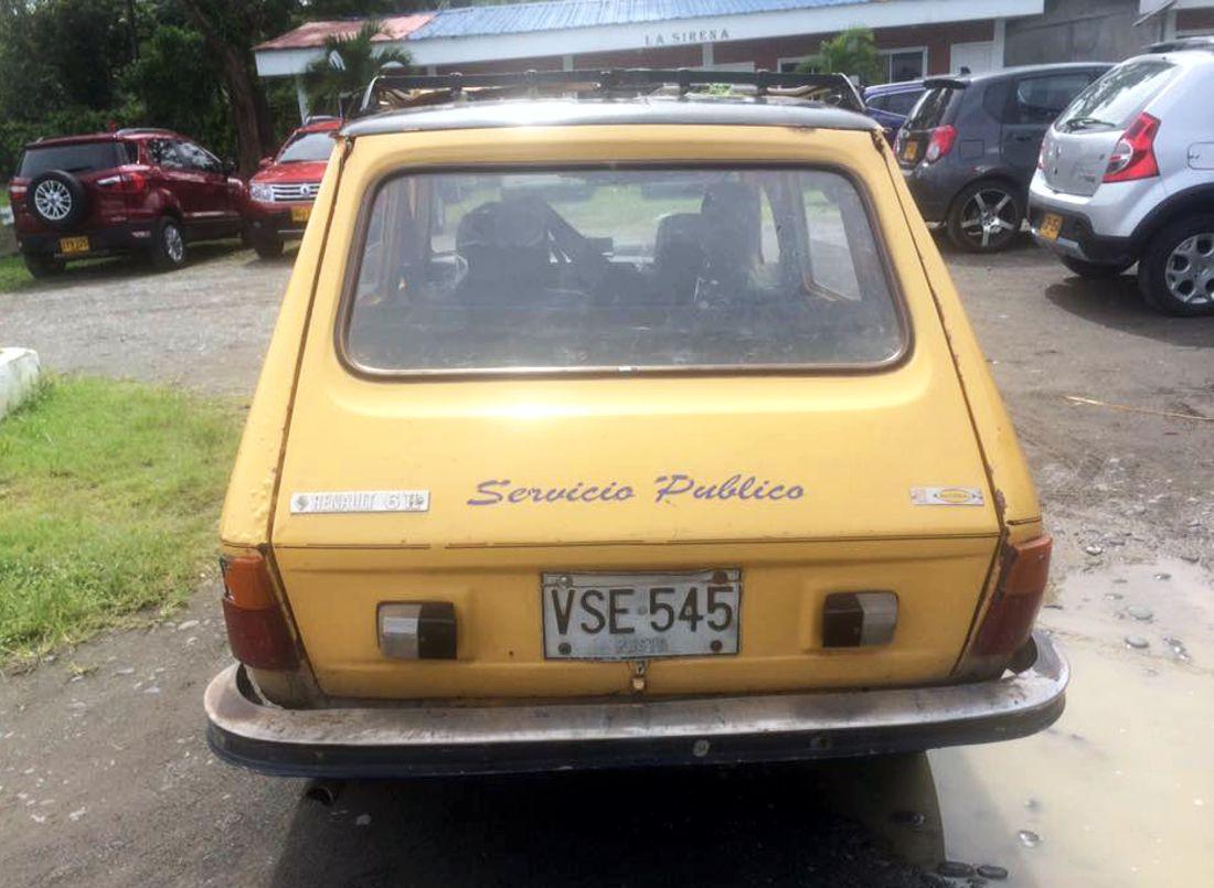 renault 6, renault 6 colombia, renault 6 1300, renault 6 1108, renault 6 taxi