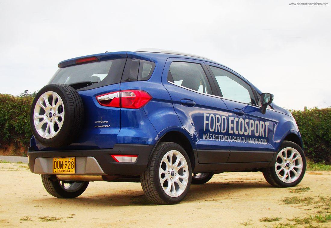 ford ecosport 2018 colombia, ford ecosport colombia
