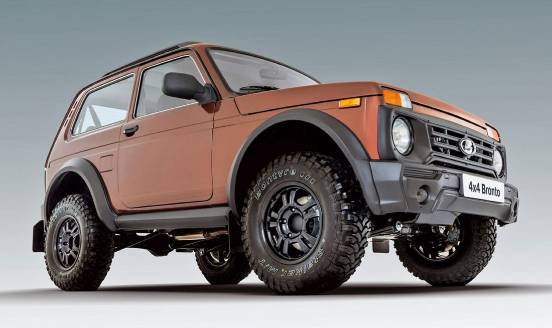 lada niva 4x4 bronto, lada 4x4 bronto, lada niva colombia, bronto colombia