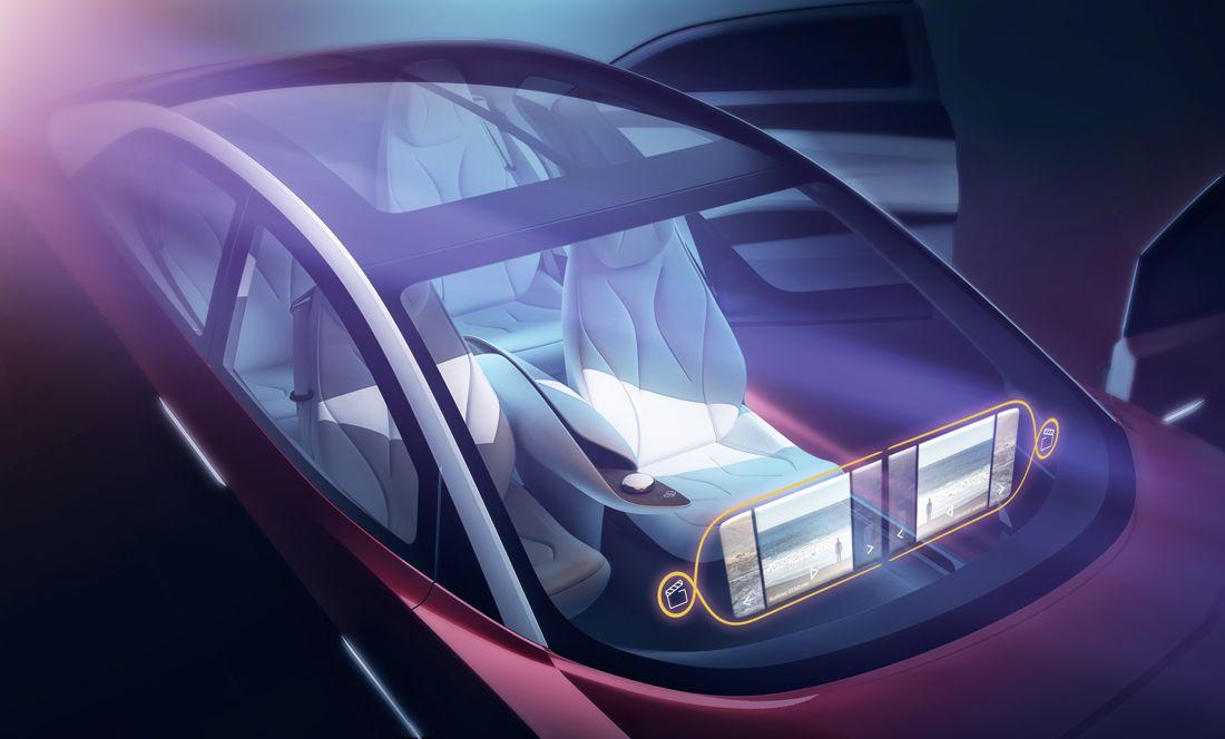 volkswagen i.d. vizzion, volkswagen i.d. vizzion concept, carros electricos, carros autonomos, conduccion autonoma, carros que se manejan solos, carro del futuro